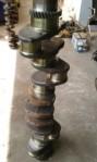 Crankshaft Komatsu S6D125 STD